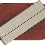 Ezelap Single Sided Diamond Plate w Leather Pouch (36F)