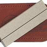 Ezelap Single Sided Diamond Plate w Leather Pouch (26F)