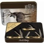 Schrade Uncle Henry 3 Pce Gift Tin Set *New* (SCHP1085955)