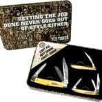Schrade Old Timer Gift Tin Yellow (SCHP1085947Y)