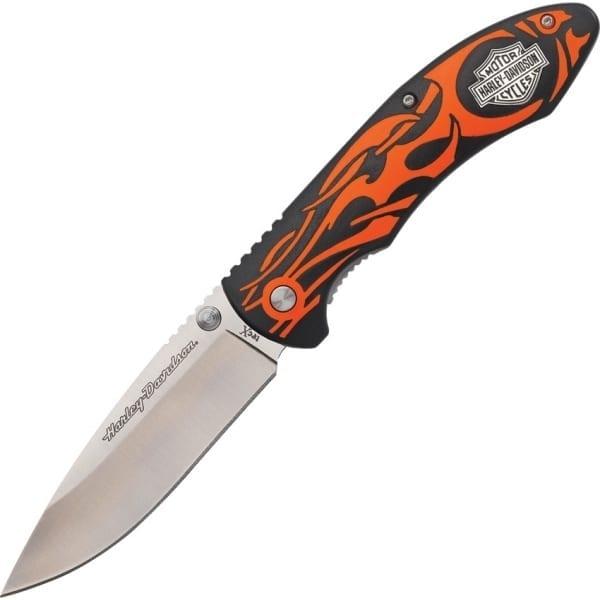 "Case Harley Tec X Linerlock Orange 4.5"" (CA52119)"