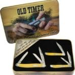 Schrade Old Timer Gift Tin Yellow (SCHP1105604Y)