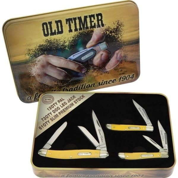 Schrade Old Timer Gift Tin Yellow (SCHP1105604Y)
