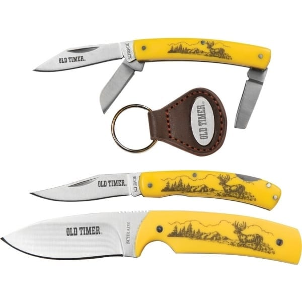 Schrade Scrimshaw Gift Set (SCHP1085951)