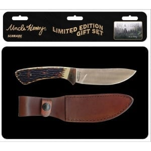 Schrade Uncle Henry Fixed Blade with Tin (SCHUHP1730CP)