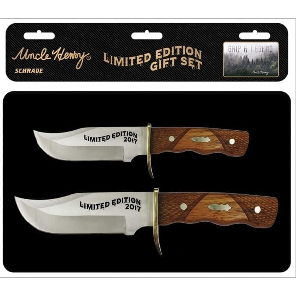 Schrade Uncle Henry Limited Edition Gift Set (SCHUHP1729CP)