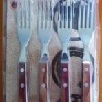 Tramontina BBQ Jumbo Forks 4pc Set Brown (21199/497)